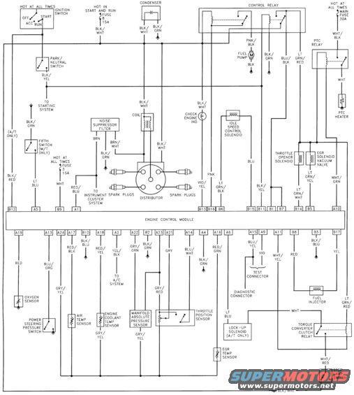 1997 Ford Aerostar Engine Diagram Ignition Module 1997