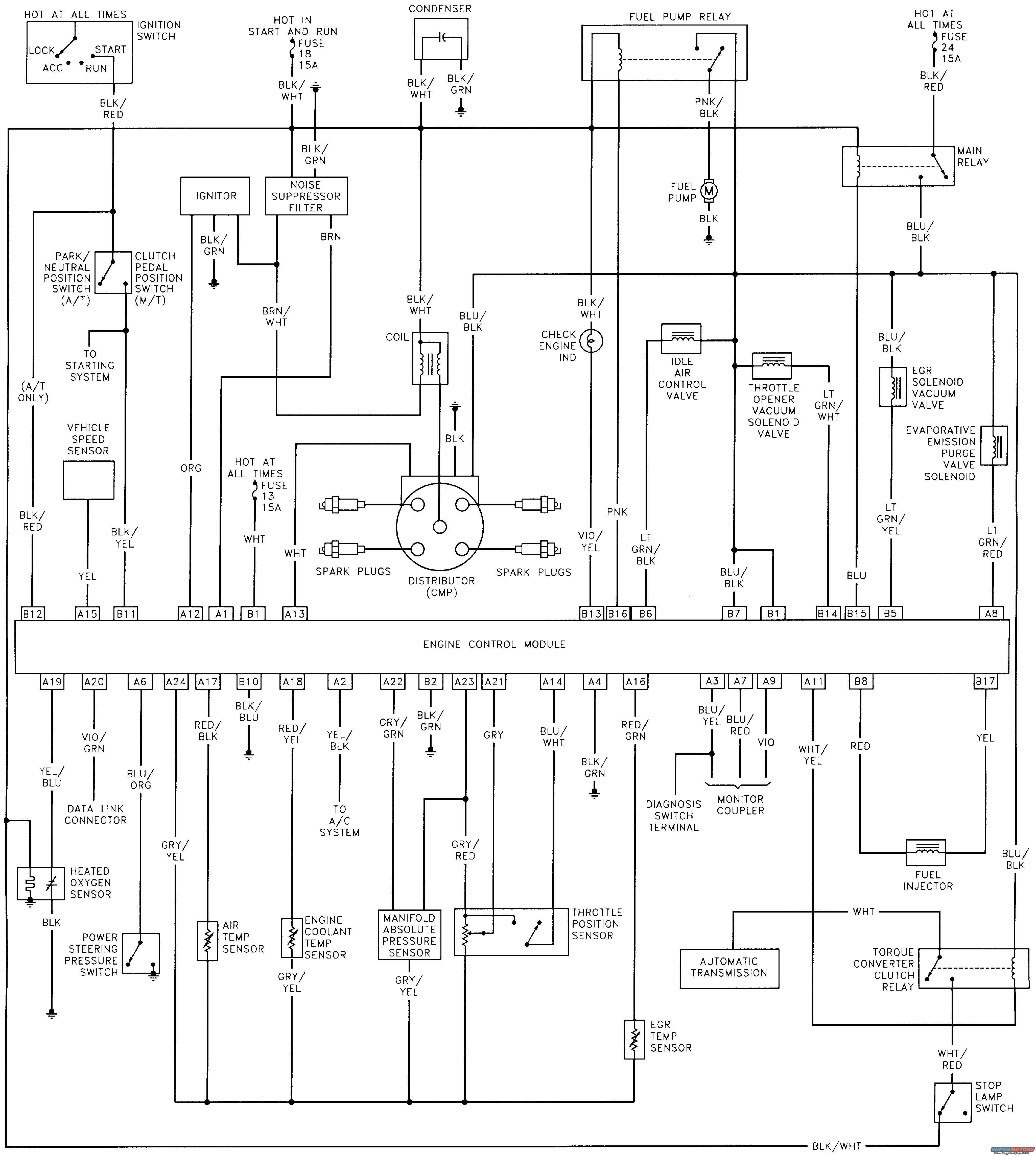 suzuki sidekick wiring diagram pc keyboard 94 geo tracker 1 6l engine free image for user