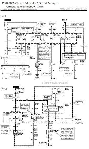 98 mercury grand marquis wiring diagram