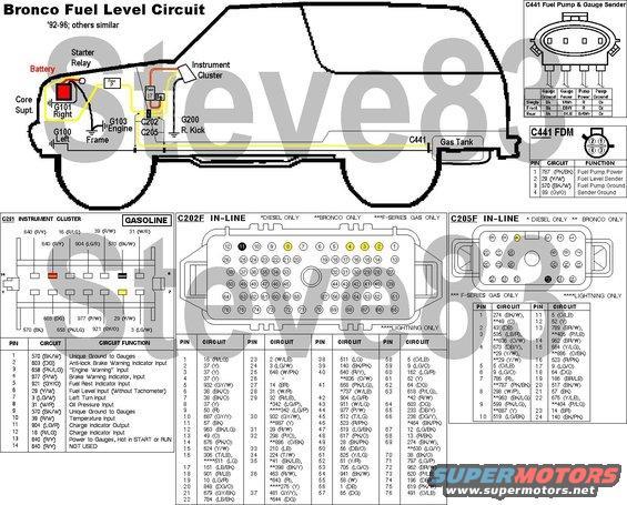 1983 Ford Bronco Fuel Level Sender Repair picture