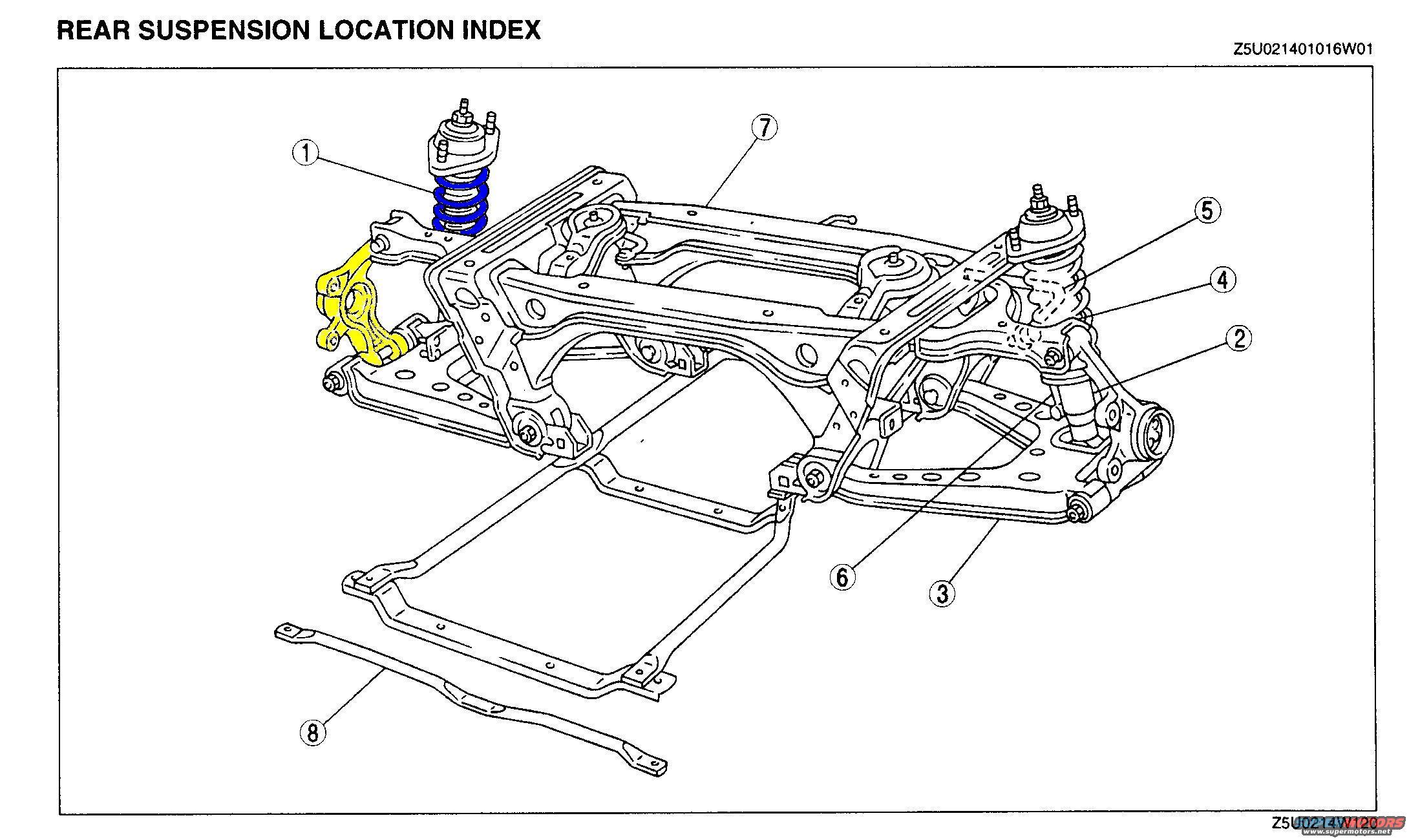 c4 corvette suspension diagram ezgo golf cart wiring batteries rear swap bmw autos post