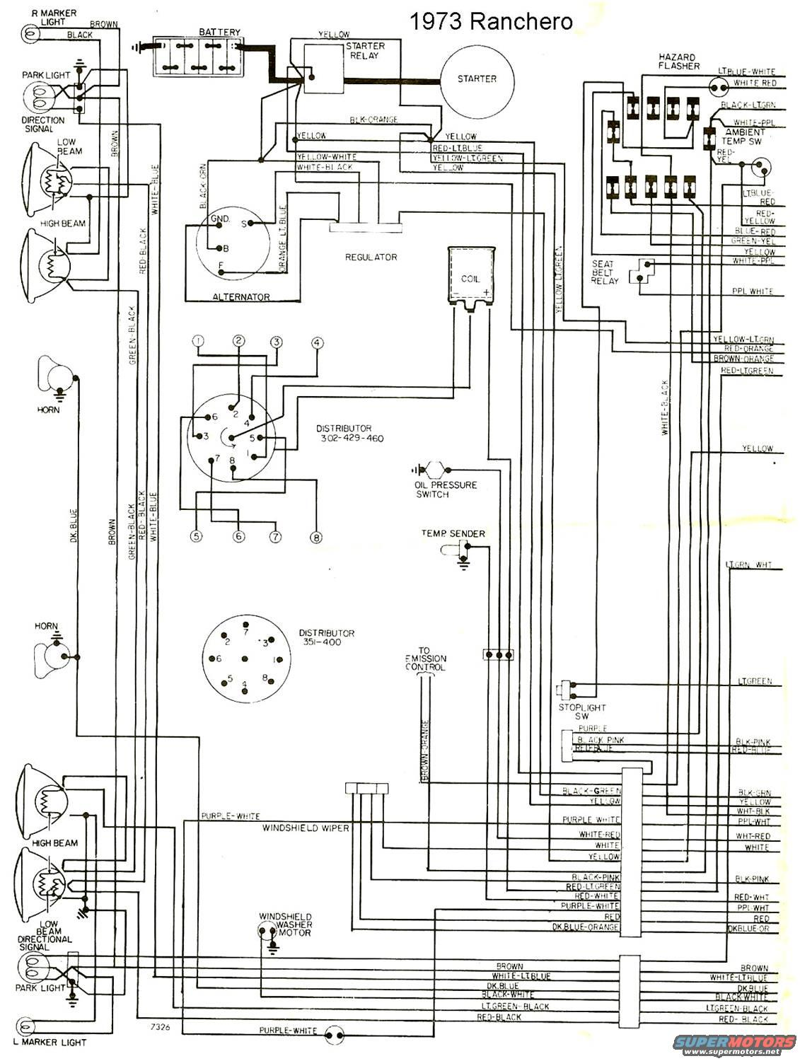 Ranchero Electrical Wiring Diagrams Ford