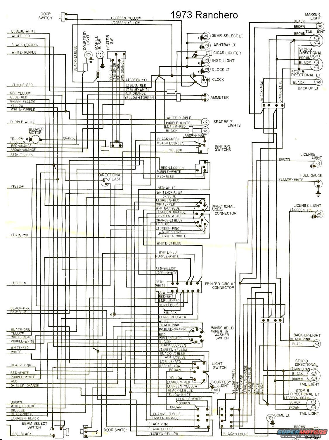 1965 ford ranchero wiring diagram code alarm elite 1100 1973 the site share images