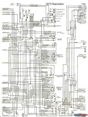 1973 Ford Ranchero Wiring Diagram | The Site Share Images