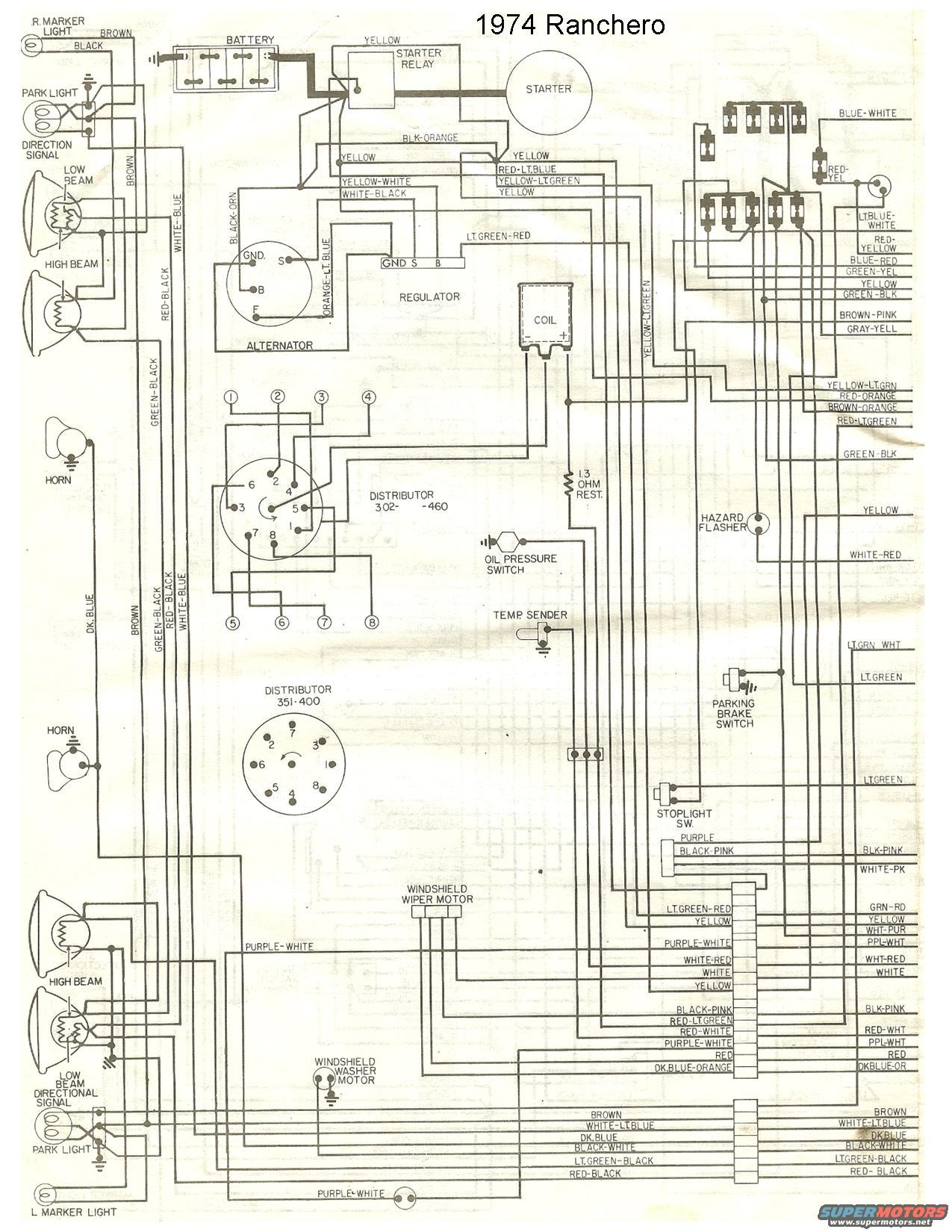 1965 ford ranchero wiring diagram emg 81 60 1971 mercury montego free engine