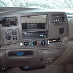 2000 Ford Excursion Removing Alpine Dvd Player Picture Supermotors Net