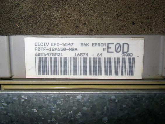 Ford Eeciv Tfiiv Electronic Engine Control Troubleshooting