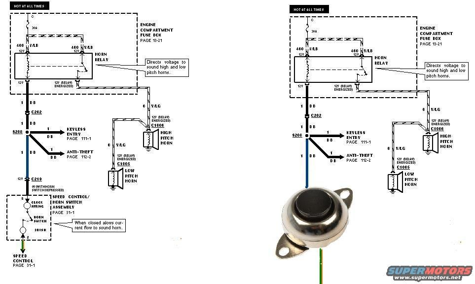 Air Horn On Wiring Diagram To Original, Air, Free Engine