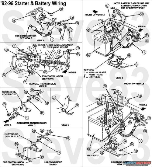 small resolution of 92 ford bronco transmission wiring diagram