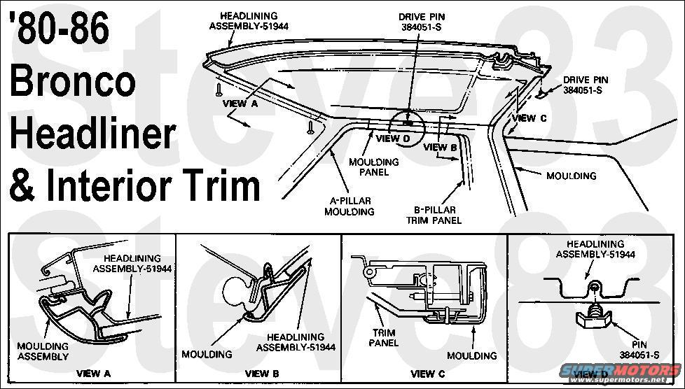 Ford Bronco Diagrams Picture Supermotors Net