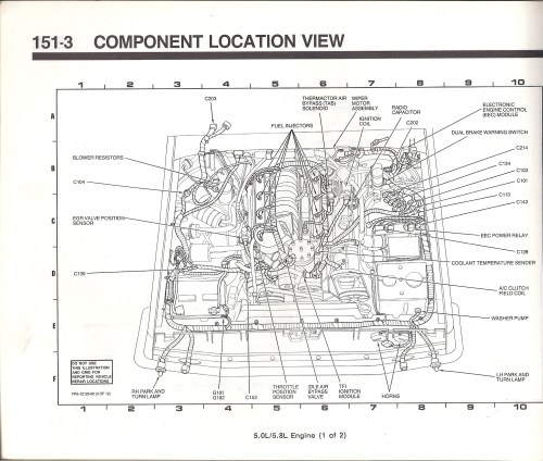 small resolution of 1990 ford bronco engine diagram