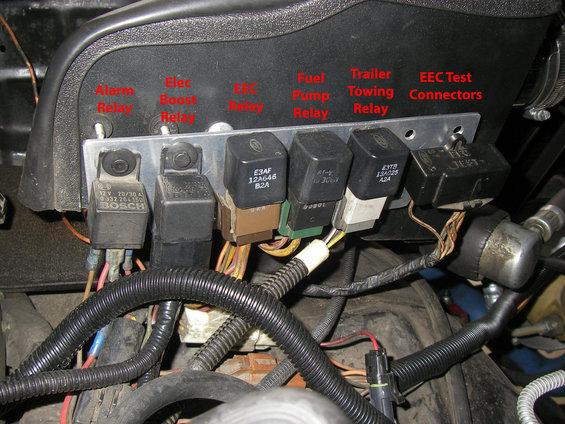 1989 Ford Bronco Ecu Wiring Diagram Fuel Pump Relay Location Ford Bronco Forum