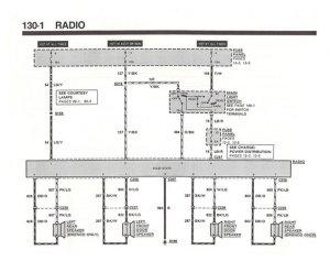 1990 Radio powerground wires  Ford Bronco Forum