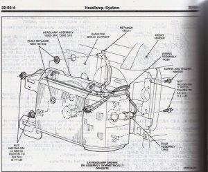 8791 Headlight housing removal  Ford Bronco Forum