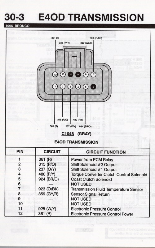 small resolution of 1990 ford bronco e4od transmission picture supermotors net
