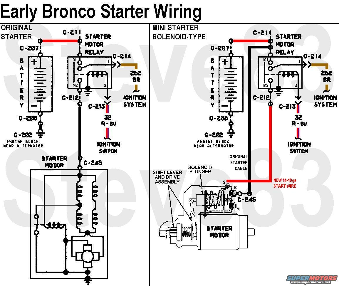 hight resolution of 1988 ford bronco starter solenoid wiring diagram