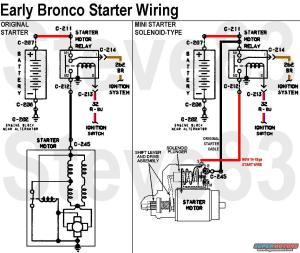 1976 Ford Bronco Tech Diagrams picture | SuperMotors