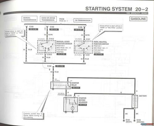 small resolution of wiring diagram for the starter