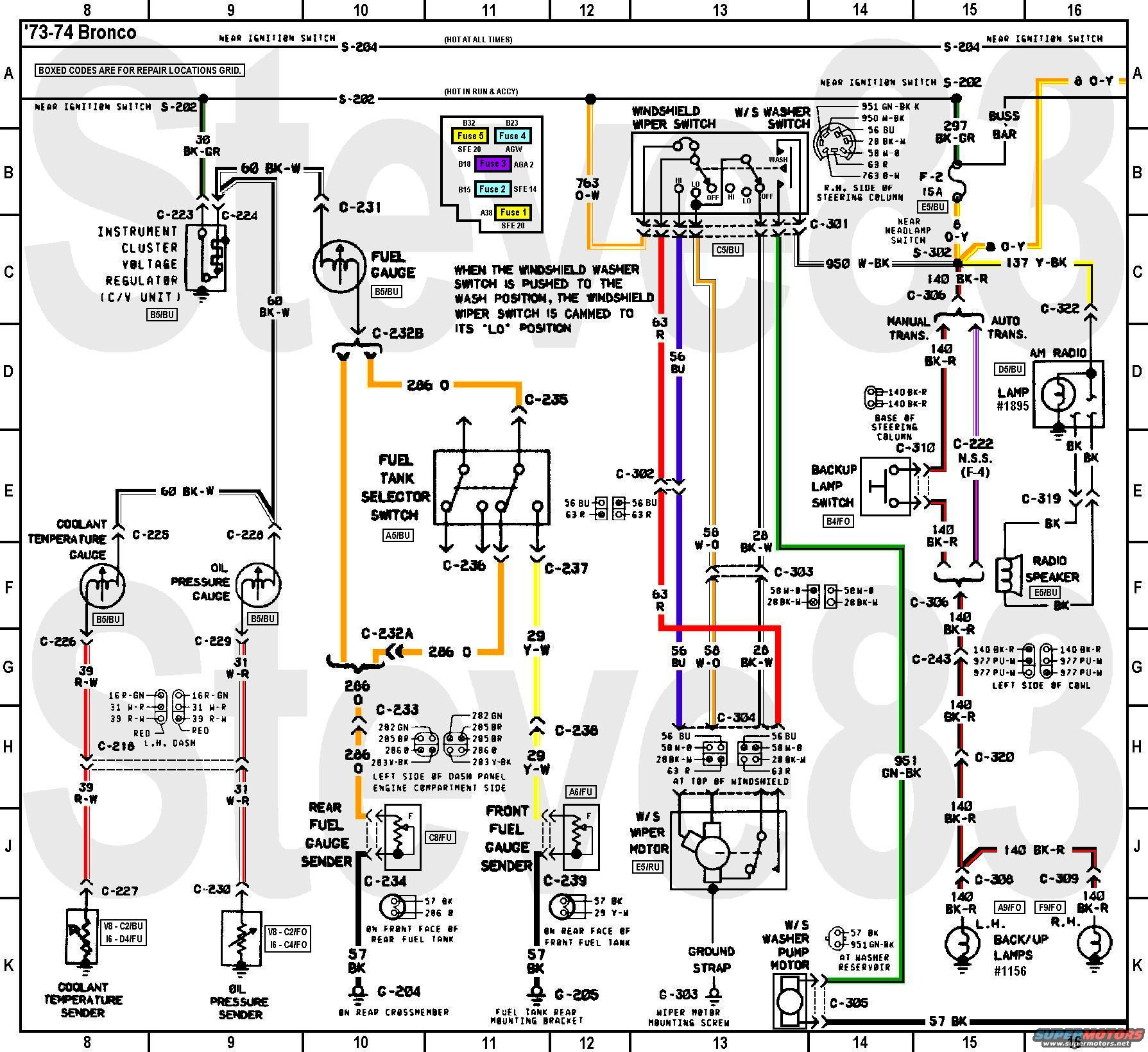 1977 ford bronco wiring diagram ez go rxv 48 volt battery 1976 f250 get free image about