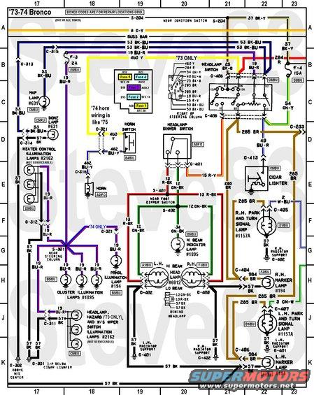 emergency ballast wiring diagram johnson outboard year model identification 1976 ford bronco tech diagrams picture | supermotors.net