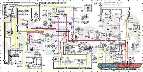 bronco wiring diagram, Wiring diagram