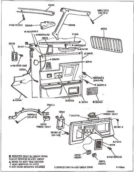 1990 Ford Bronco Diagrams and Schematics pictures, videos