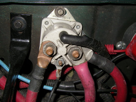 1988 Ford Bronco Starter Solenoid Wiring Together With Ford 7 3