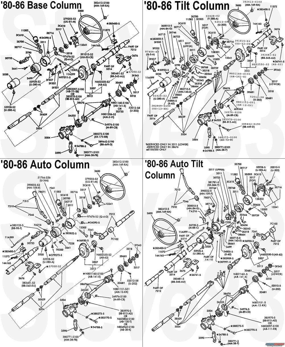 medium resolution of 1983 ford bronco diagrams picture supermotors net 1983 ford steering column diagram