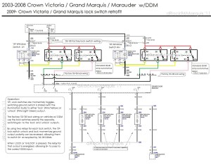 2008 Ford Crown Victoria Wiring Diagram  Wiring Diagram