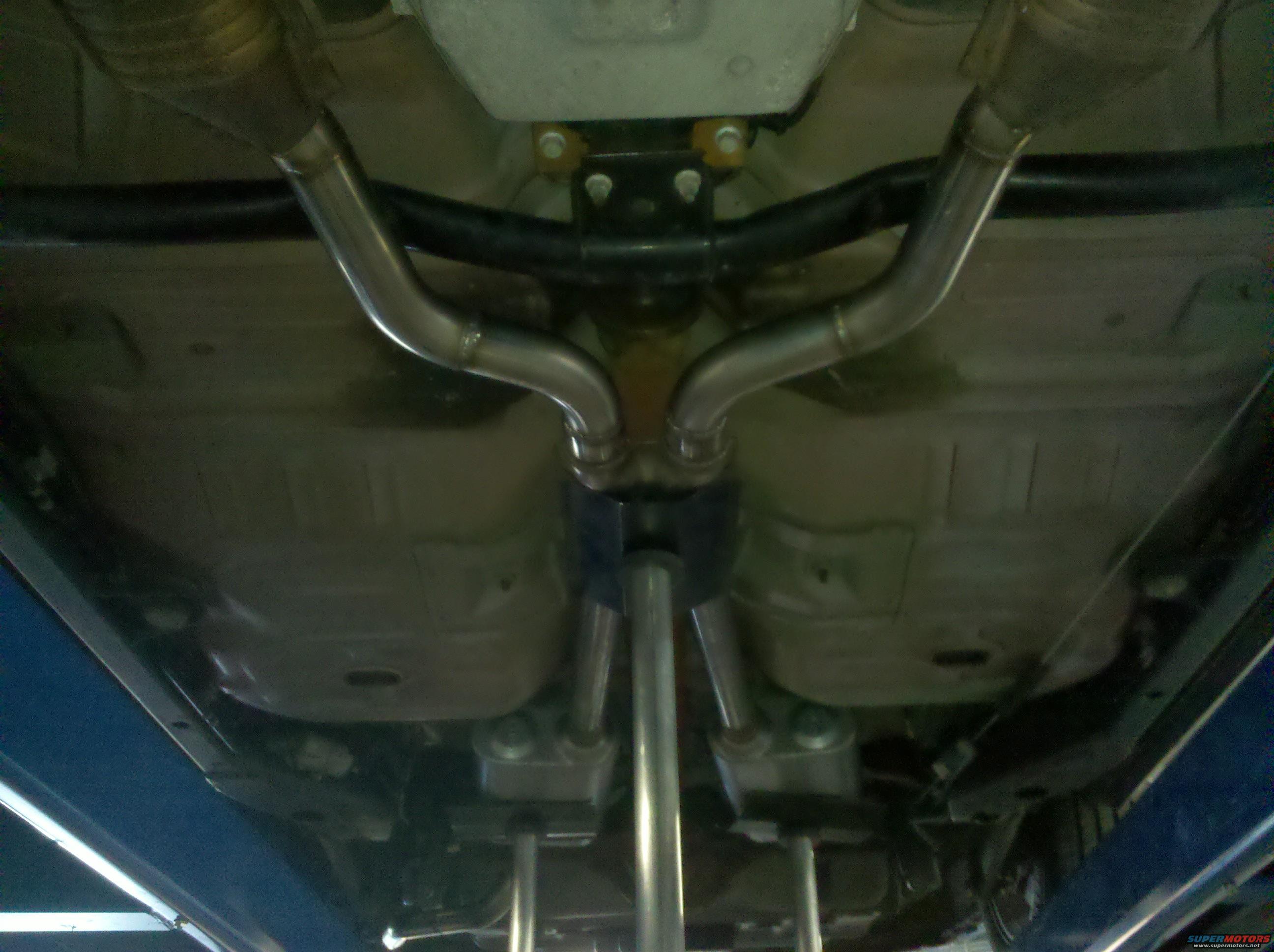 2000 crown victoria custom dual exhaust