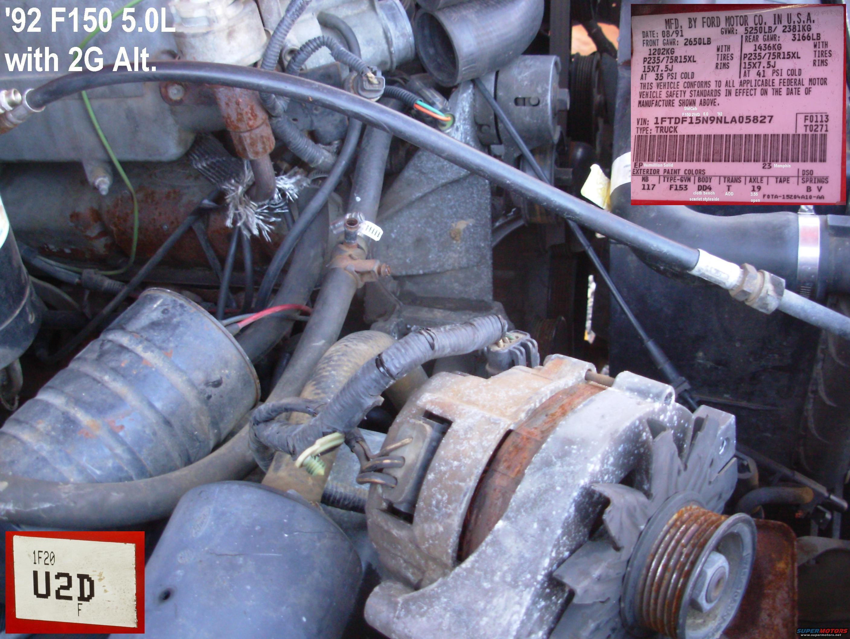 Ford Alternator Wiring Diagram On 1986 Ford Ranger Alternator Wiring