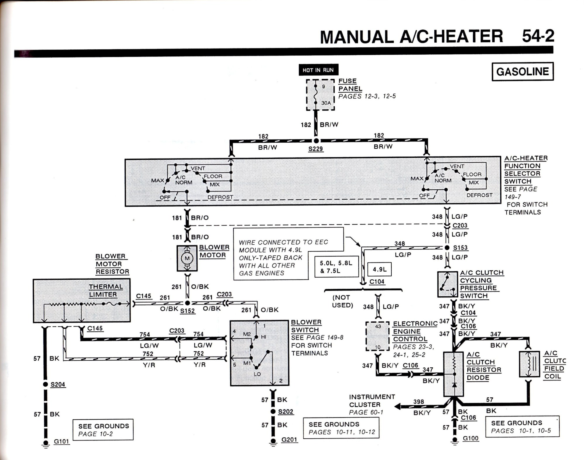hight resolution of 1999 ford f 150 ac wiring diagram wiring diagrams second 1999 ford f 150 wiring diagram hvac