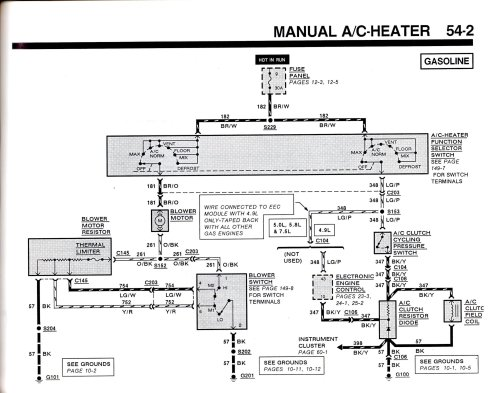 small resolution of 1990 ford f 150 ac wiring diagram schema wiring diagram99 f150 ac heater wiring diagram wiring