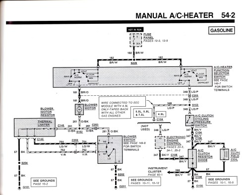 small resolution of 99 f150 ac heater wiring diagram wiring diagram technic 1999 ford f 150 wiring diagram hvac
