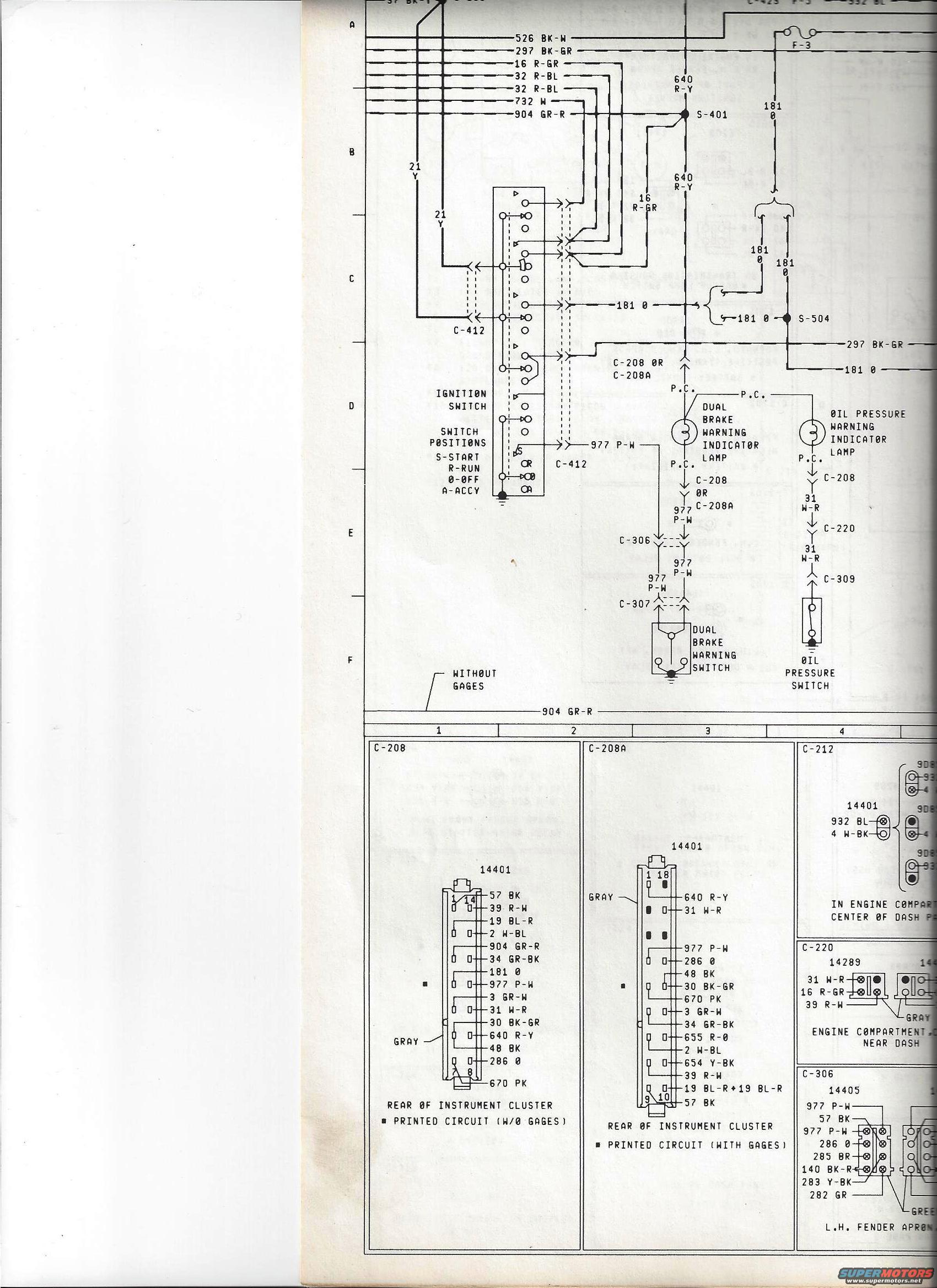 79 bronco wiring diagram ford audio 78 f 250 color code example electrical