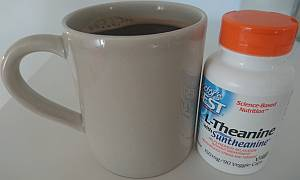 l-theanine coffee nootropic
