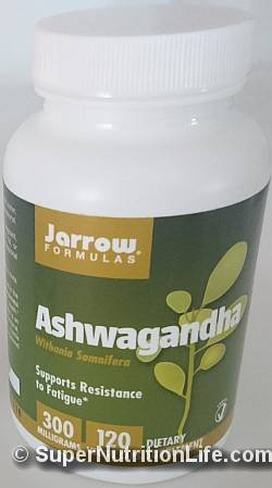recommended Jarrow Formulas Ashwagandha KSM-66