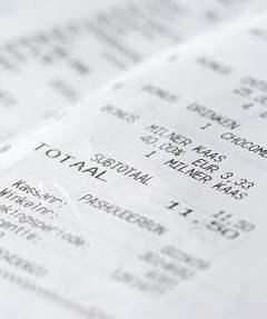 BPA estrogen in receipt