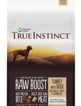 True Instict Raw Boost Dog Turkey 5kg Bag