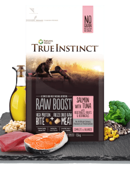 True Instinct Raw Boost Cat Food 1.5kg Bag