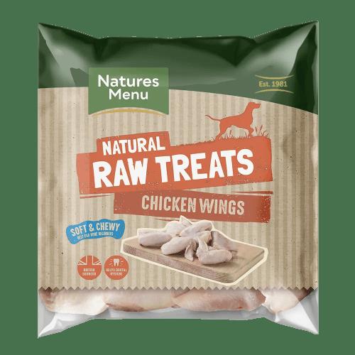 Natures Menu Raw Chicken Wings 1kg Bag
