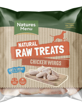 Natures Menu Raw Chicken Wings 1kg Bag