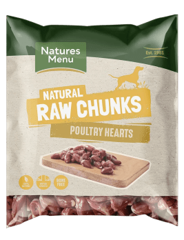Raw Poultry Hearts Bag