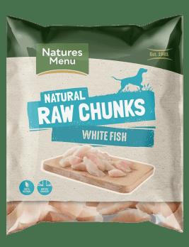 Natures Menu Raw White Fish Fillet 1kg Bag