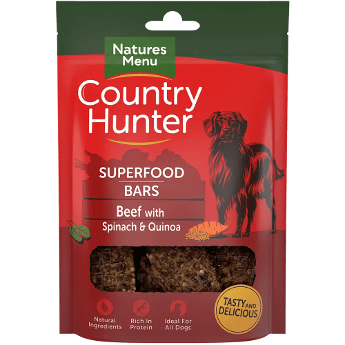 Country Hunter Superfood Bars Beef 100g Pack
