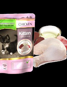 Natures Menu Cat Food Kitten 100g Pouch
