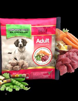 Natures Menu Original Raw Nuggets Beef 1kg Bag