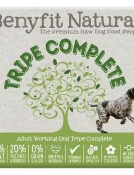 Benyfit Natural Tripe Complete 1kg Tub