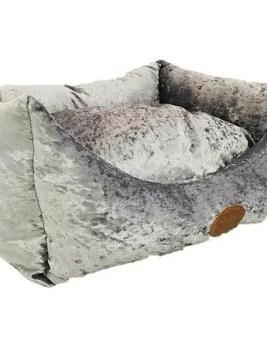 Snug & Cosy Grey Shimmer Bed