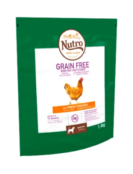 Nutro Grain Free Dry Adult Chicken 1.4kg Bag